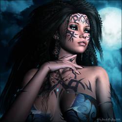 Snake Lady by Dark-Fireflies