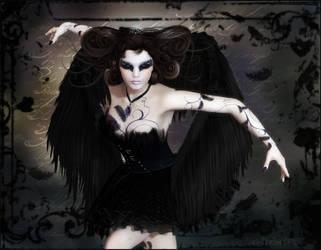 The Swan Queen by Dark-Fireflies