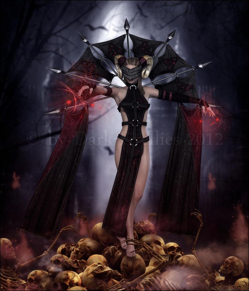 Bloodmage by Dark-Fireflies