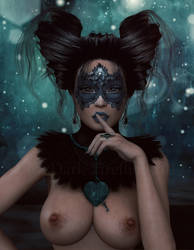 Mystique Portrait by Dark-Fireflies