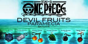 Devil Fruits | Batch #1 by K-u-r-o-m-i-z-u