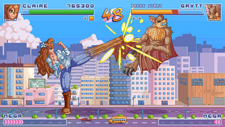 Colossus Gate - Fighting Game