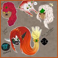 Aria consept, twilight princess and majoras mask.