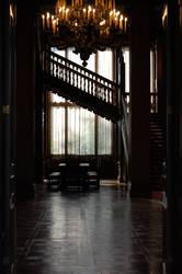 Hallway by BeltaneFireStock
