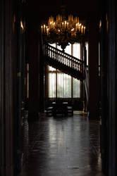 Hallway II by BeltaneFireStock