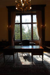 Desk by BeltaneFireStock