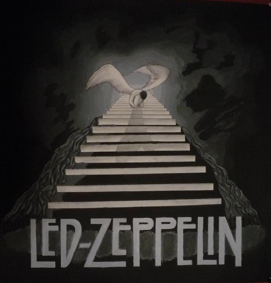 Zeppelin Stairway to Heaven by aerokay on DeviantArt