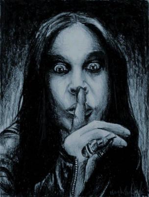 Ozzy Osbourne by aerokay