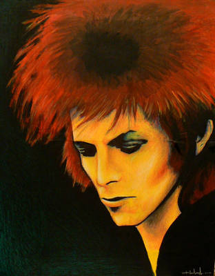Ziggy Stardust by aerokay