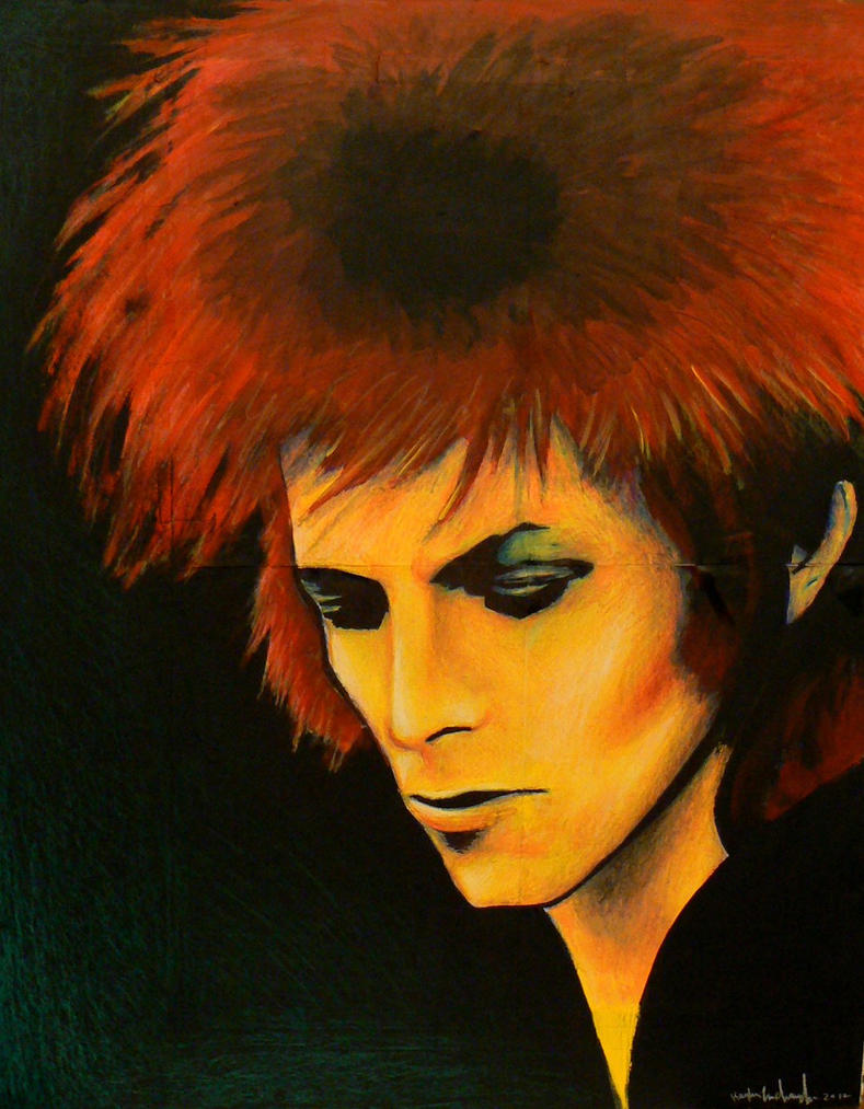 Ziggy Stardust by aerokay