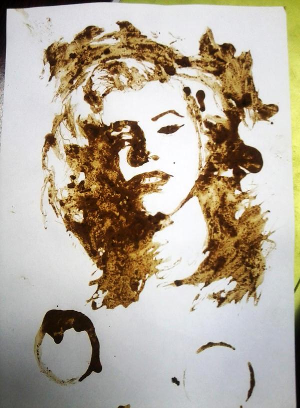 Coffee portrait by xhosnyx