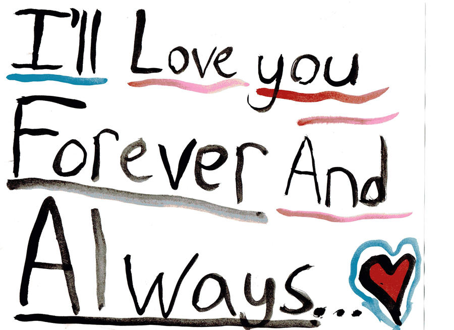 Ill love you forever book meaning