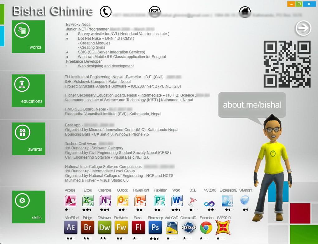 cv gratuit windows 8