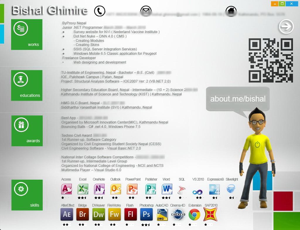 windows inspired cv biodata by bishal on windows 8 inspired cv biodata by bishal33