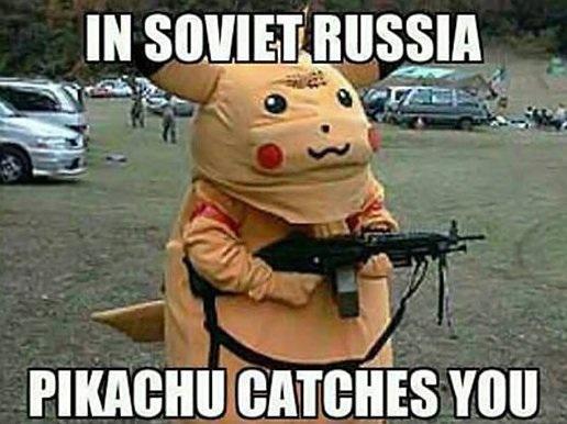 One Funny Pikachu Meme By Theoriginalsatio On Deviantart