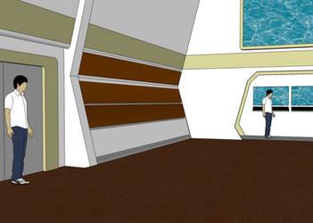 Prospero Rec Room WIP 2 by leckford