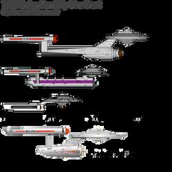 TOSS Ship Size Chart