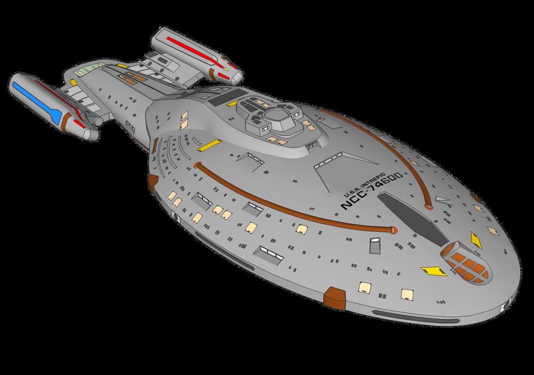USS Intrepid by leckford