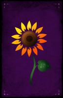 Gabrielle's Sunflower by CatherineElias