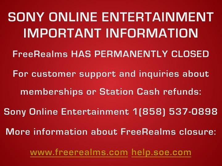 Freerealms shutdown by j4lambert on deviantart