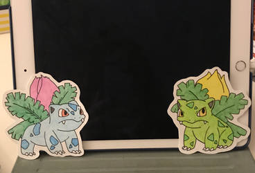 Two Ivysaurs