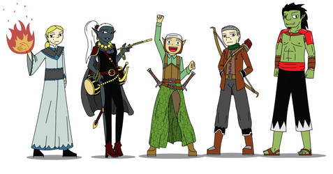 Dungeons and Dragons! The Specter Slayers by SoakMonkey