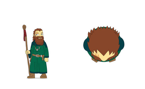 Gundr Greenthumb - Dwarf Druid and latest member