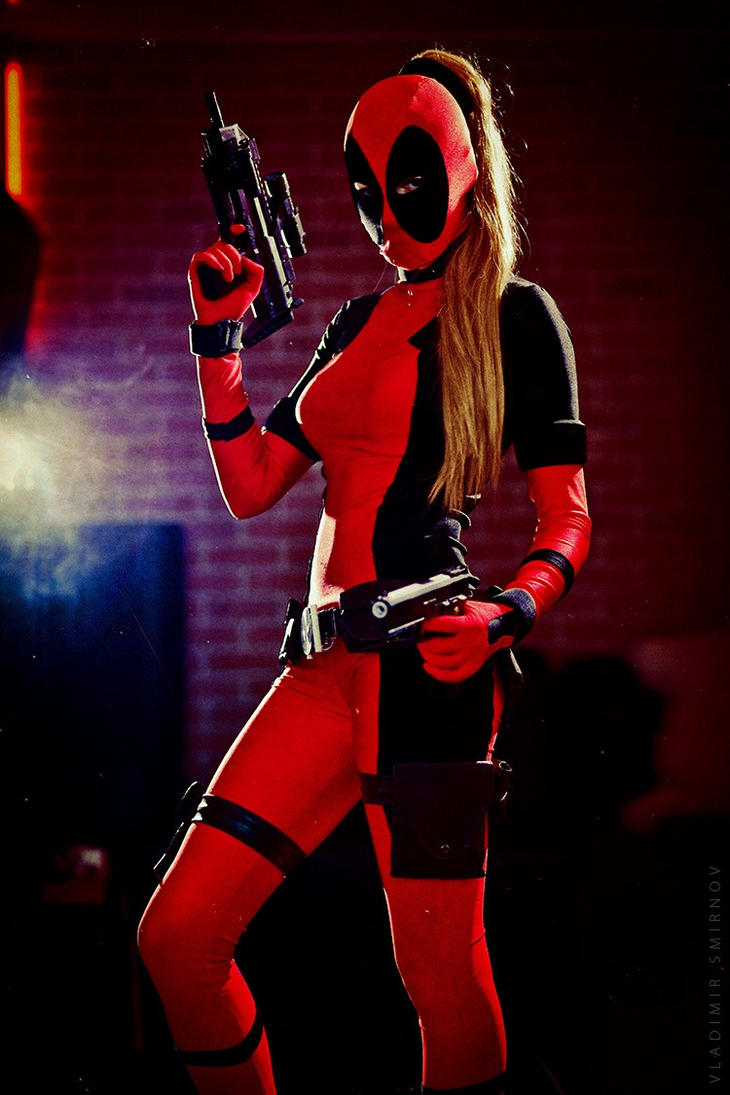 Lady Deadpool by KaitoEinsam Lady Deadpool Cosplay Costume