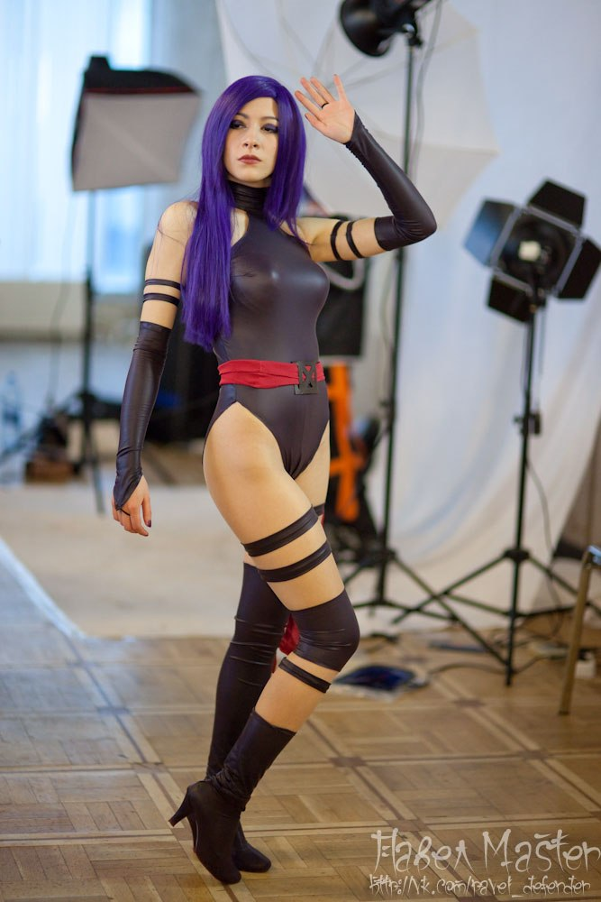 Psylocke by KaitoEinsam