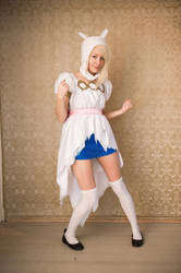 Fionna Adventure Time in Torn Dress