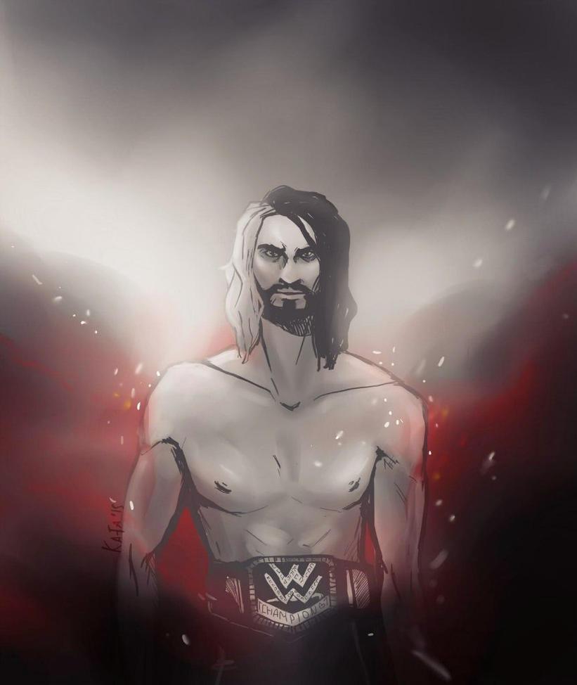 Seth Rollins by KaitoEinsam