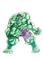Hulk by Elforim