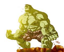 Hulk estilizado by Elforim