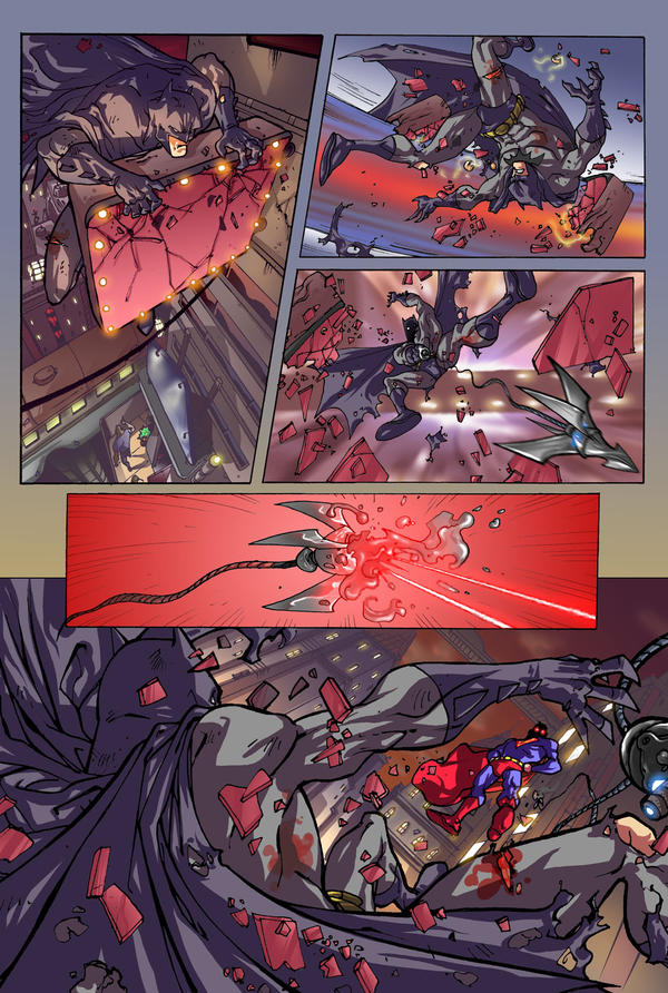 BATMAN VS SUPERMAN 02 by Elforim