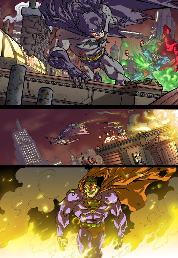 BATMAN VS SUPERMAN 01 by Elforim