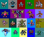 Robot Master Fusions