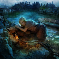 Moonbathing by Cocodrillo
