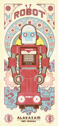 VINTAGE ROBOT SERIES 1 by reefboys