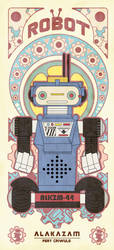 VINTAGE ROBOT SERIES 3 by reefboys