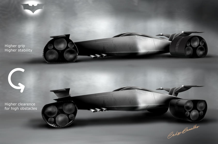 Batmobile 02 by Carloske