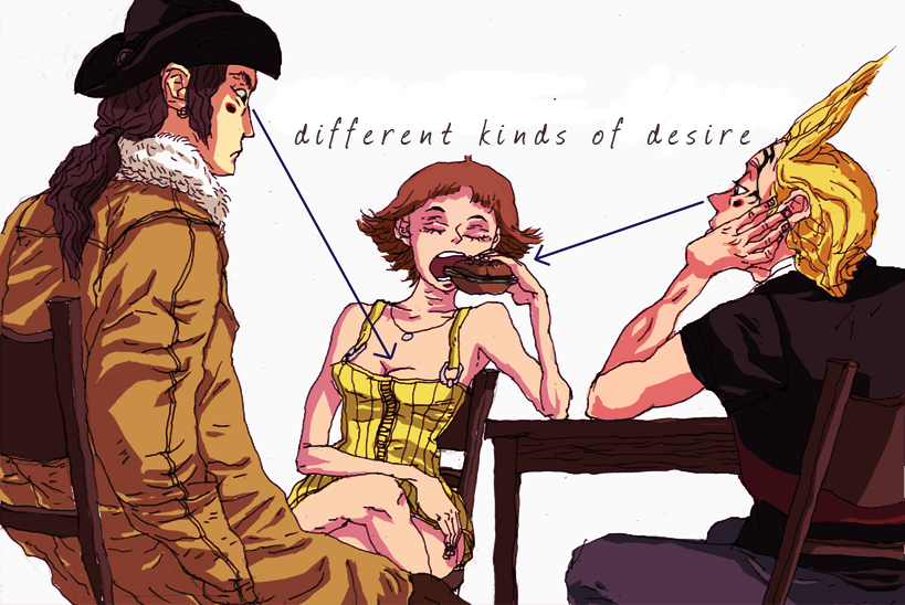 Different kinds of desire by ValyChan
