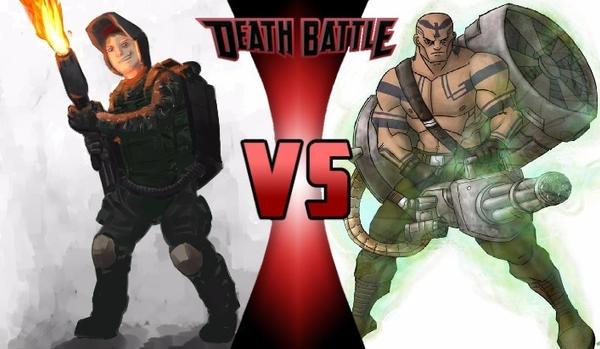 Death Battle - Anton Girdeux vs Vulcan Raven by yenyangipman