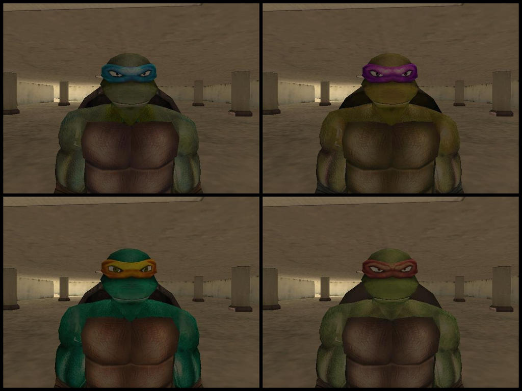 Grand Theft Mutant Ninja Turtles (San Andreas) by yenyangipman