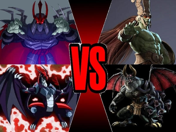Tengu Shredder vs Ancient Ogre by yenyangipman
