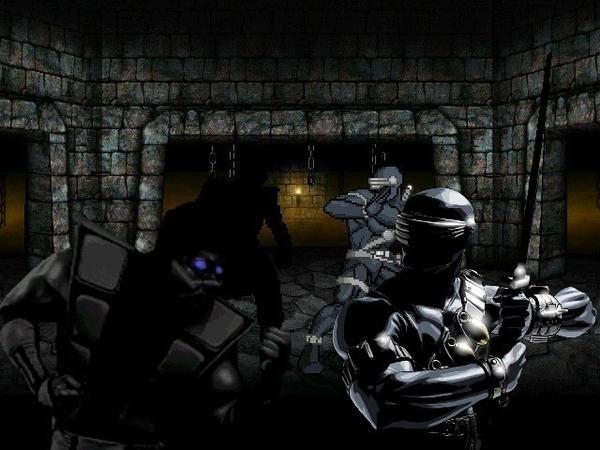 Noob Saibot vs Snake Eyes by yenyangipman