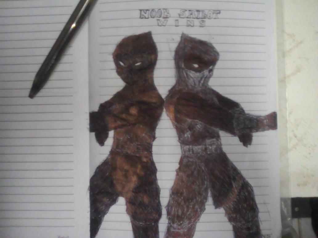 My Noob Saibot drawing by yenyangipman