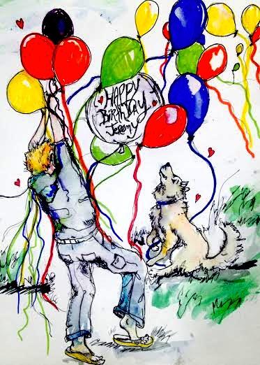 Happy Birthday jeremy by lamelobo
