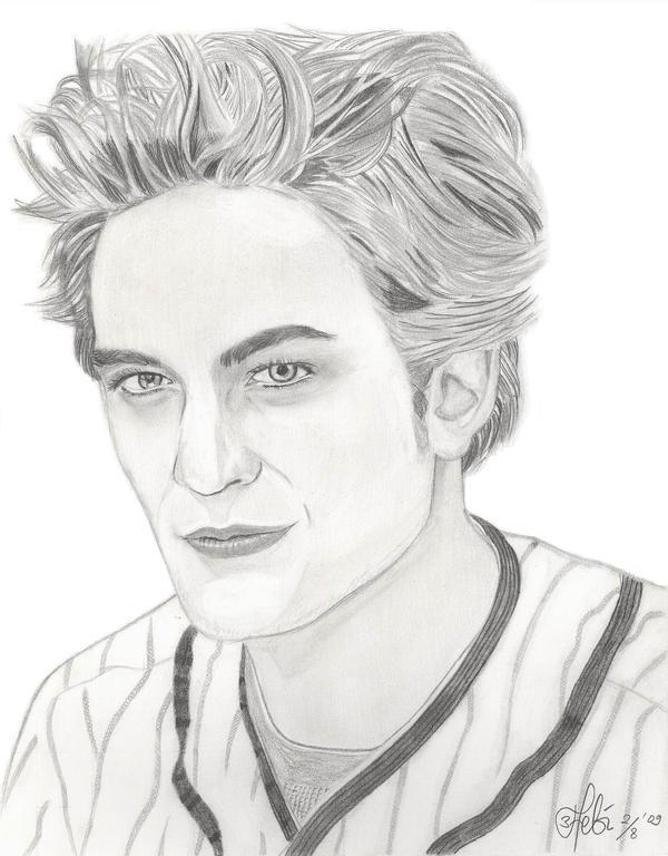 Edward Cullen In Baseball Suit By Firefly1702 On Deviantart