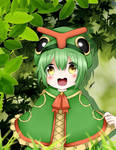 Caterpie Gijinka by Nirvna-chan