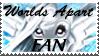 Worlds Apart Fan by YunikoYokai